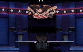 BMV y peso caen horas antes del debate presidencial en EU