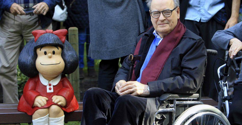 Fallece a los 88 años el caricaturista Quino, creador de Mafalda