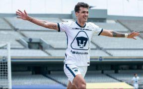 Juan Ignacio Dinenno sabe que el clásico ante América es muy relevante para Pumas. (Foto: Mexsport)