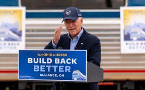 """Trump fue una """"vergüenza nacional"""" durante el debate: Biden"""