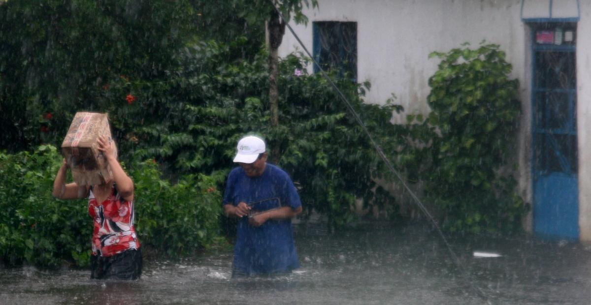 Pronostican lluvias extraordinarias en Chiapas y Tabasco para este jueves