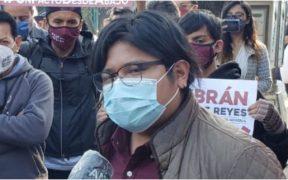 Gibrán Ramírez, excandidato a la dirigencia de Morena
