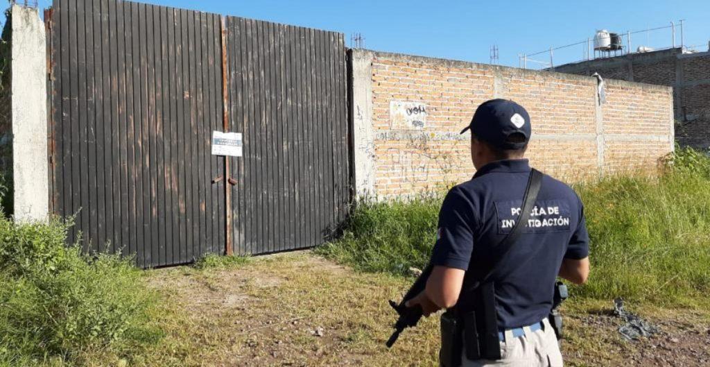 Fiscalía de Jalisco encuentra fosa en El Salto