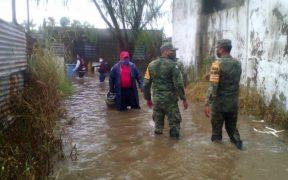 Hay 10 mil 500 personas afectadas por las lluvias en Tabasco; piden activación del Fonden