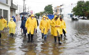 Protección Civil activa alerta por lluvias intensas en cuatro estados