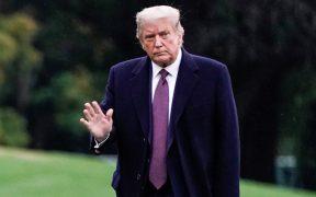 ¿Qué hizo Trump la semana previa a saber que tenía Covid-19?