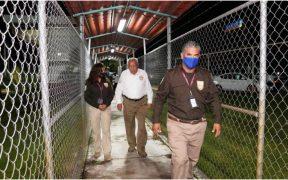 GN blinda frontera con Guatemala; migrantes de la caravana regresan por miedo de ir a prisión