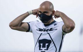 Carlos González será otra baja sensible para Pumas frente al América. (Foto: Mexsport)