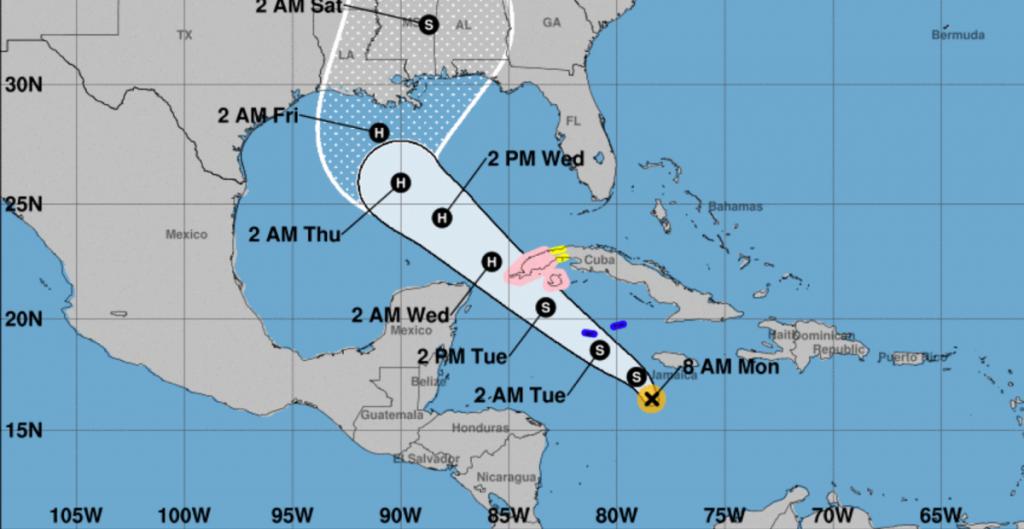 Se forma tormenta tropical 'Delta' en el mar Caribe; amenaza el oeste de Cuba