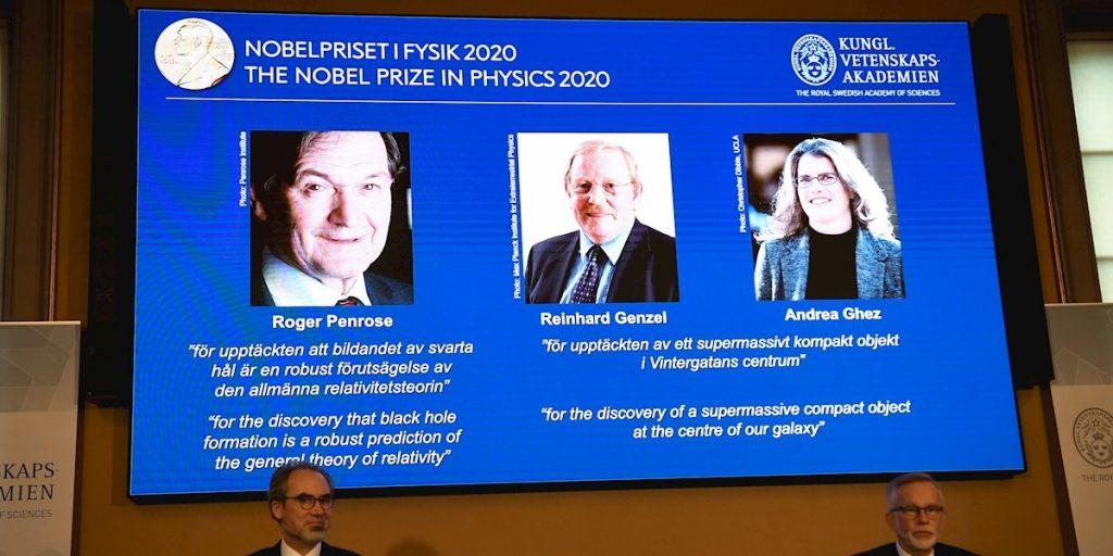 Tres estudiosos de los agujeros negros ganan Nobel de Física