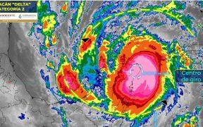 Desalojan a 39 mil personas en Quintana Roo y Yucatán por el paso del huracán 'Delta'