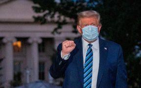 """""""Me siento genial"""", dice Trump; médicos afirman que no ha tenido síntomas por más de 24 horas"""