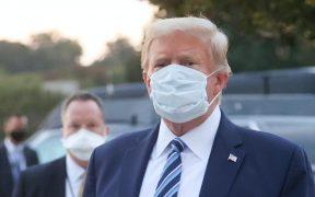 Trump regresa a la Oficina Oval a menos de una semana de dar positivo a Covid-19