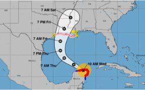 El huracán 'Delta' se debilita a categoría 1 en su ruta hacia EU