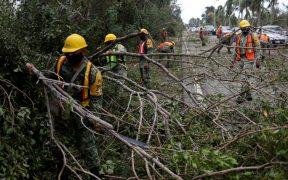 'Delta' dejó daños menores en Yucatán y Quintana Roo: Protección Civil