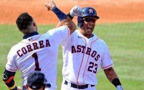Los Astros consiguieron cuatro jonrones en el triunfo definitivo sobre Oakland. (Foto: Reuters)