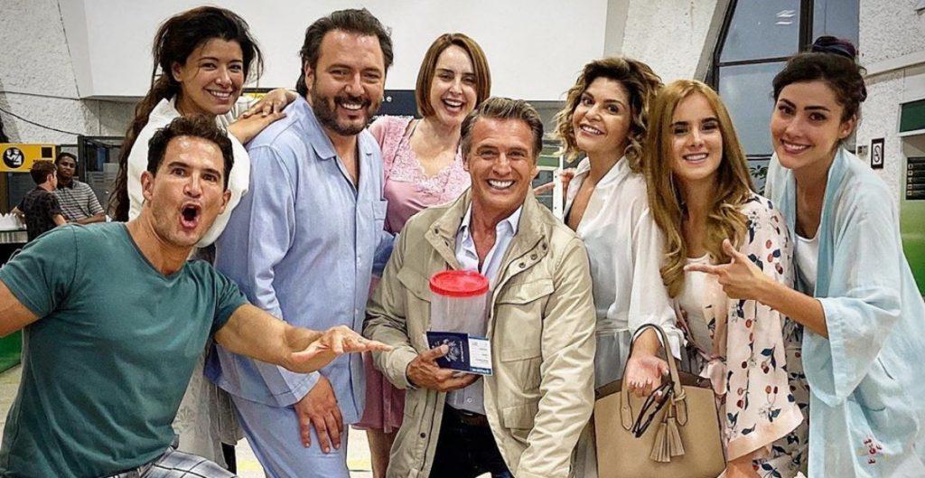 Juan Soler, Itatí Cantoral y Jackie Sauza dan positivo a prueba de Covid-19