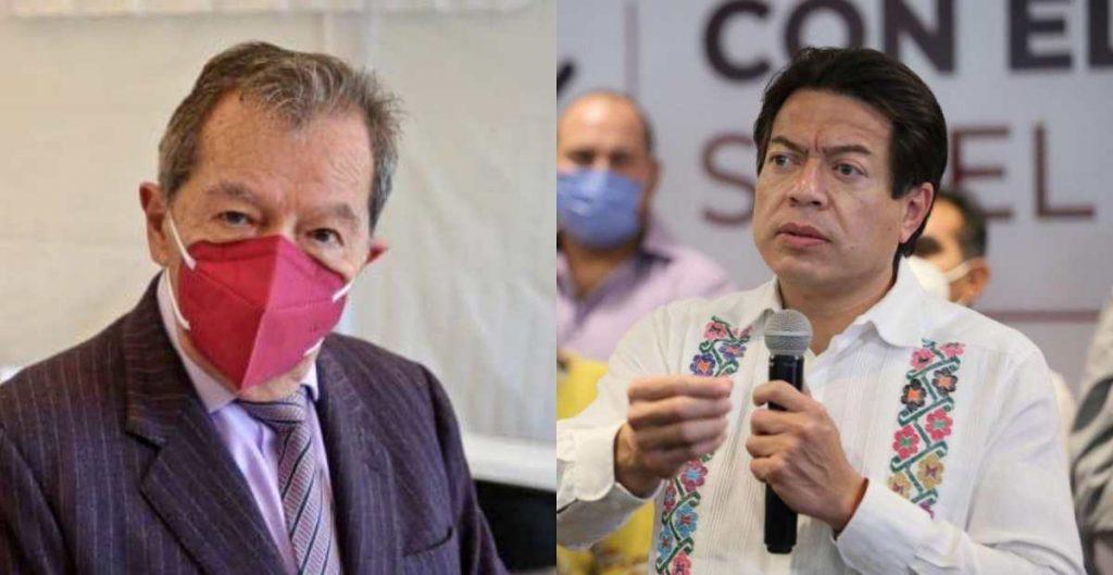 Muñoz Ledo y Delgado empatan en encuesta de Morena; el INE prevé nuevo sondeo
