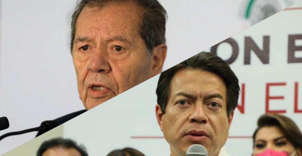¿Qué pasaría si Muñoz Ledo y Delgado empatan en la tercera encuesta de Morena?
