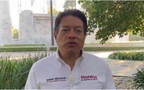 Mario Delgado, candidato a la dirigencia de Morena
