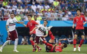 México se impuso a Corea del Sur en el Mundial de Rusia 2018.
