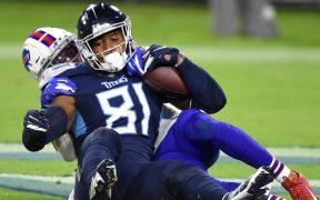 Los Titans dominaron a la ofensiva y arrollaron a los Bills con gran actuación de Tannehill.