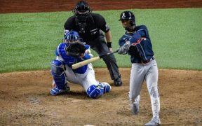 Albies conectó un jonrón solitario en la novena que fue definitivo para que los Astros vencieran a Dodgers.