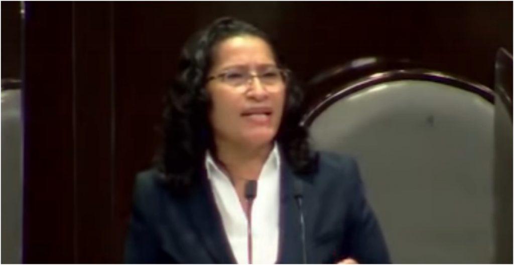 Abelina López, diputada de Morena