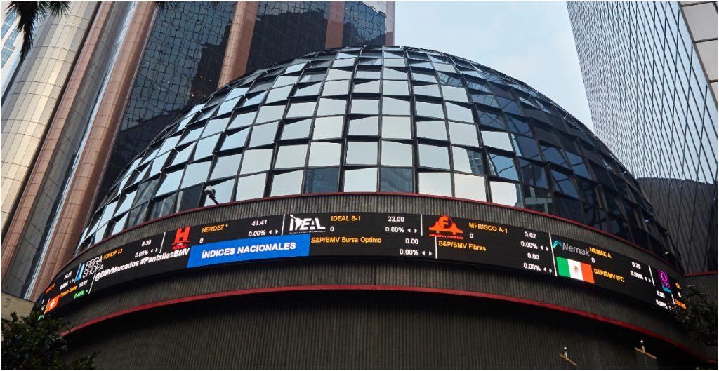 La Bolsa Mexicana de Valores (BMV) reportó su tercera caída al hilo