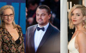 Leonardo DiCaprio y Meryl Streep acompañarán a Jennifer Lawrence en 'Don't Look Up'