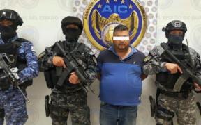 Vinculan a proceso a 'El Azul', presunto líder del cártel de Santa Rosa de Lima