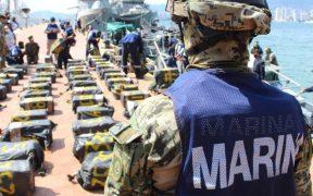 La Semar asegura 2 toneladas de cocaína cerca de las costas de Acapulco