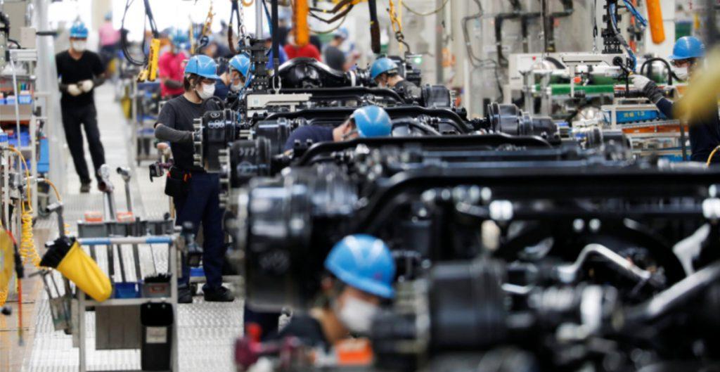 Sector manufacturero en México sube un 0.4% en agosto
