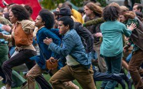 'The Trial of the Chicago 7' se estrena hoy en Netflix; la defensa de Aaron Sorkin a las protestas ciudadanas