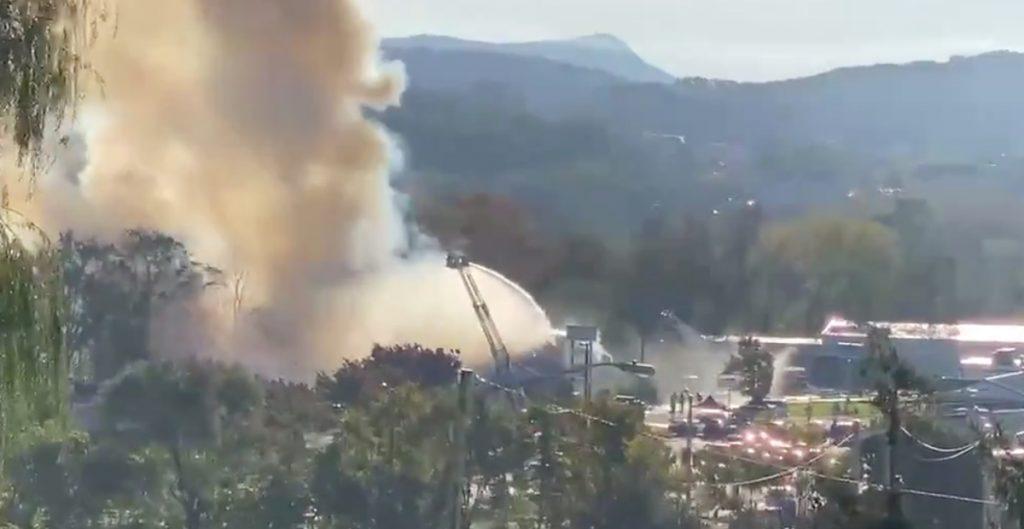 Incendio de edificio en Harrisonburg, Virginia deja tres heridos