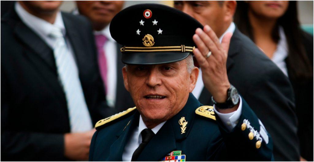 Salvador Cienfuegos, exsecretario de la Defensa Nacional