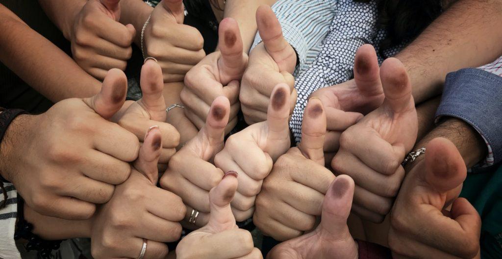 Tinta indeleble para votar no transmite Covid, asegura el INE