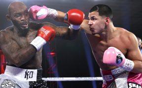 Berlanga ha ganado sus 15 peleas por nocaut en el primer round.