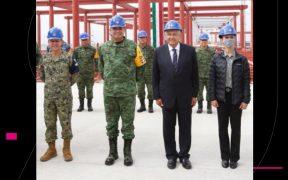 Rafael Ojeda Durán, secretario de Marina, da positivo a Covid-19, informa AMLO