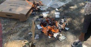Reportan quema de boletas en Hidalgo tras las elecciones