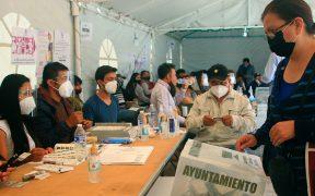 La FEDE investiga quema de material electoral durante comicios en Hidalgo