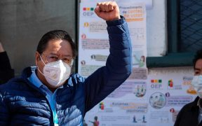 Encuesta señala como ganador en primera vuelta presidencial de Bolivia a Luis Arce, afín a Evo Morales
