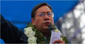 Luis Alberto Arce, candidato a la presidencia de Bolivia