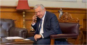 Andrés Manuel López Obrador, presidente de México, llama a Luis Alberto Arce, quien ganó las elecciones presidenciales en Bolivia