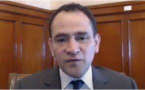 Arturo Herrera, secretario de Hacienda y Crédito Público