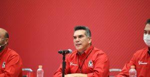 Alejandro Moreno, dirigente nacional del PRI