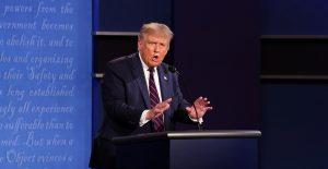 Campaña de Trump insta a cambiar temas del próximo debate presidencial