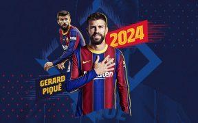 Gerard Piqué es uno de los contratos que fueron renovados por el Barcelona.