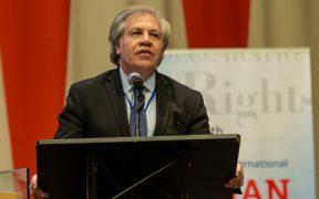 """México cuestiona """"autoridad moral"""" de Luis Almagro frente a OEA"""