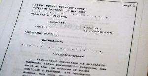 Ghislaine Maxwell negó que Jeffrey Epstein haya tenido relaciones con menores, según documento